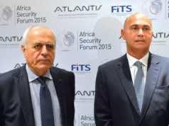 President of FITS, Alain Juillet and President of Atlatntis, Drisss Benomar