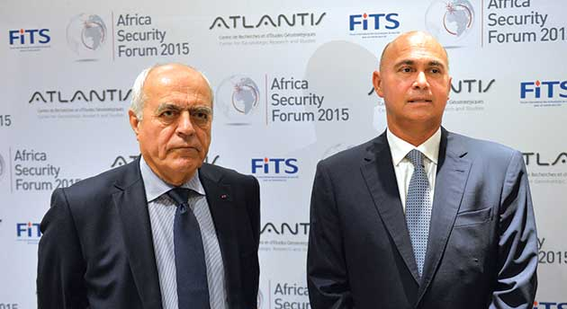 President of FITS, Alain Juillet and President of Atlatntis, Drisss Benomar