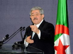 Ahmed Ouyahia, Director of the Cabinet of the Algerian President Abdelaziz Bouteflika