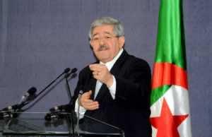 Ahmed Ouyahia, Director of the Cabinet of the Algerian President Abdelaziz Bouteflika