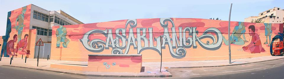 artists turn casablanca s walls into art murals artists turn casablanca s walls into art murals