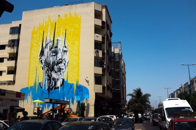 artists turn casablanca s walls into art murals adzif xxl into vancouver wall mural wayfair