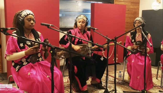 Asmâa Hamzaoui and Bnat Timbouktu Make Gnawa Festival Debut