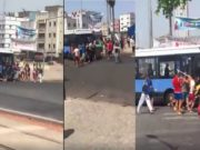 Casablanca Youths Attack Bus