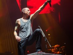 Chester Bennington of Linkin Park. Photograph: Gary Wolstenholme/Redferns via Getty Images