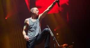 Chester Bennington of Linkin Park. Photograph: Gary Wolstenholme/Redferns via Getty Images