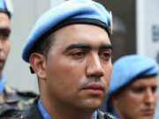 Crying Moroccan Soldier
