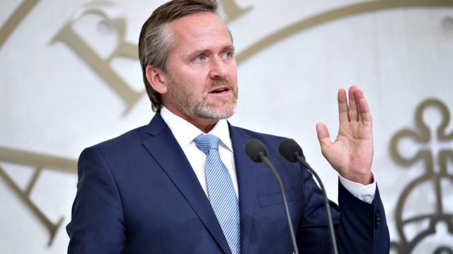 Denmark's Minister of Foreign Affairs, Anders Samuelsen