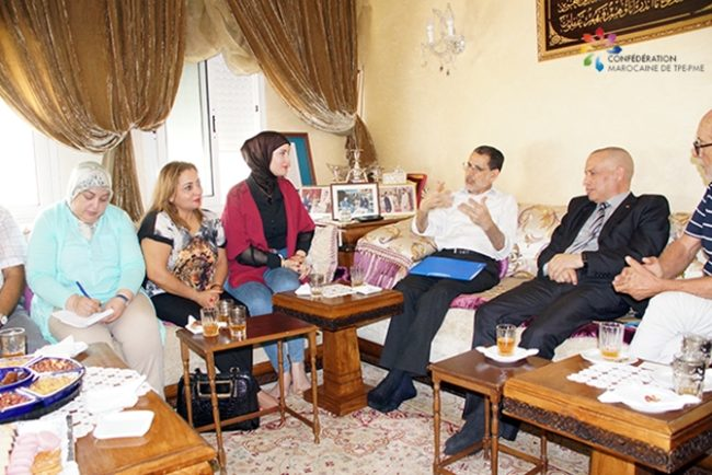El Othmani Receives SME Delegation at Home to Discuss Future of Small Businesses