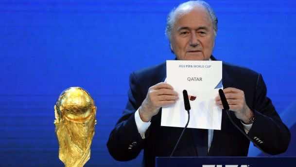 FIFA president Joseph Blatter
