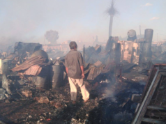 Fire Destroys 300 Homes in Slum Near Rabat