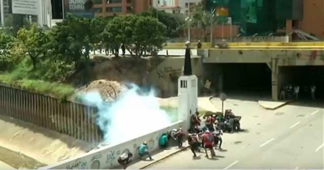 France 24 Represents Footage of Venezuela as Al Hoceima Protests