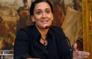Gabriela Michetti, the vice president of Argentina