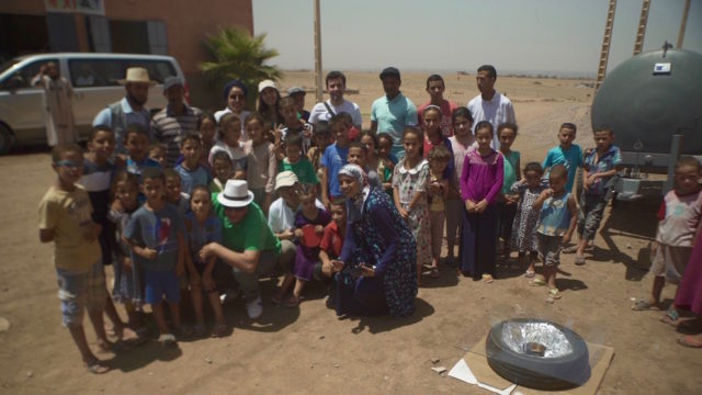 Greenpeace Launches Solar Energy Education Project in Morocco