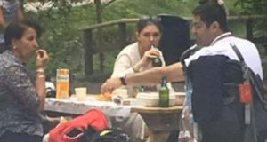 Popular Iranian TV Anchor Stirs Scandal Photographed Without Veil and Drinking Beer