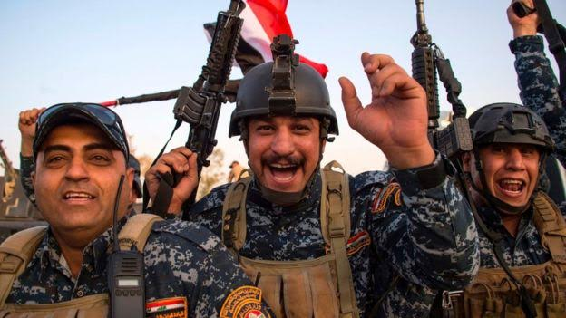 "Iraqi Flag Flies Once More Over Mosul After ""Total Victory"" Declared"