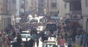 July 20 March in Al Hoceima: Violent Police Intervention, Use of Tear Gas
