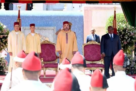 King Mohammed VI Presides Over Allegiance Ceremony in Tetouan
