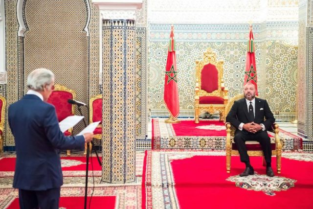 King Mohammed VI Receives Bank Al Maghrib Governor