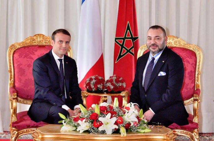 King Mohammed VI and President Macron Discuss the Situation In the Mideast