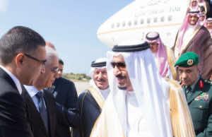 King Salman of Saudi Arabia in Tangier