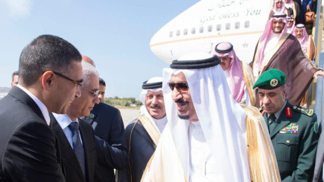 King Salman of Saudi Arabia in Tangier