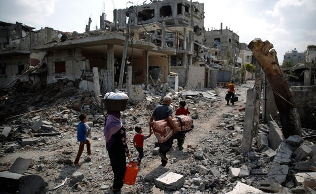 Living conditions in Gaza