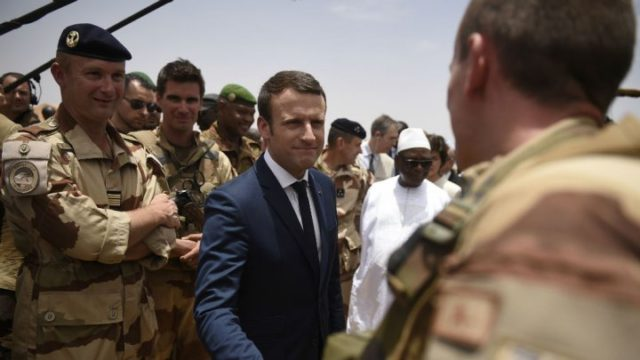 Algeria Suspicious of Macron's Sahel Counter-Terror Plans