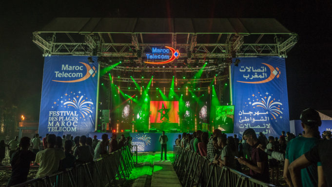 Maroc Telecom Beach Festival Makes Come back for Summer Season