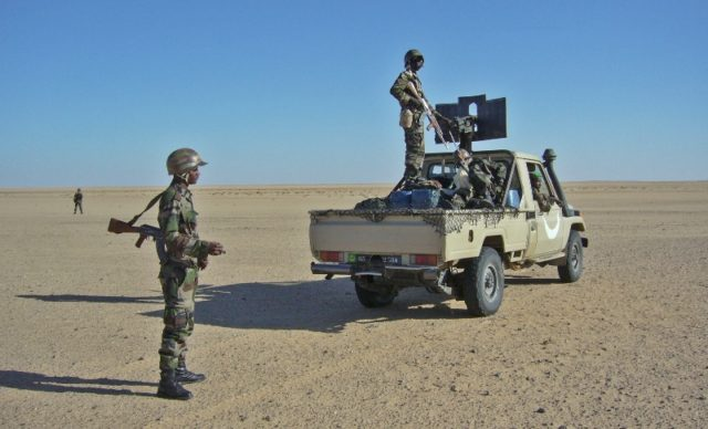 Mauritanian Army Stops Vehicle Carrying Arms from Tindouf Camps