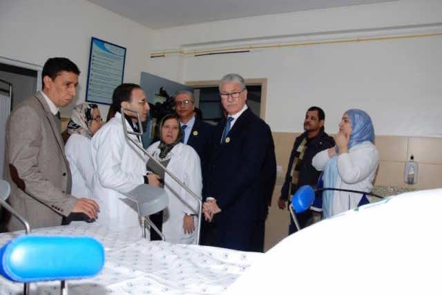 Minister of Health El Hossein El Ouardi