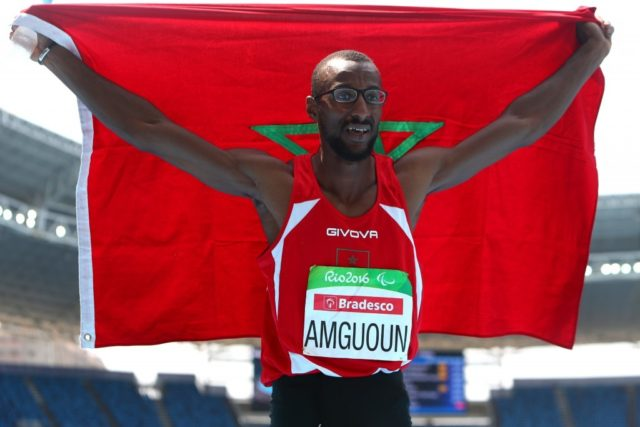 Mohamed Amguoun Breaks 400m World Record to Win Gold at World Para Athletics