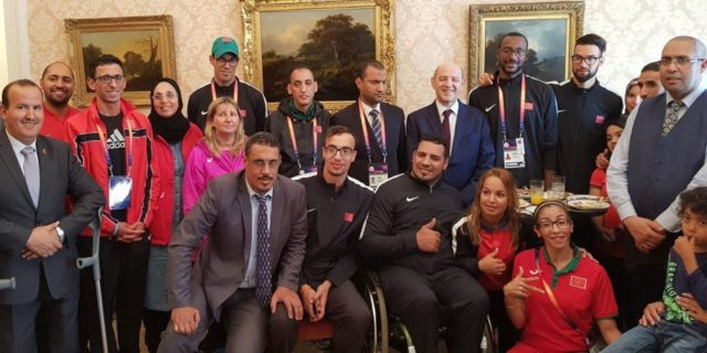Moroccan Ambassador to UK Honors Paralympic Team for Major Victories