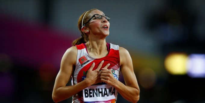 Moroccan Runner Sanaa Benhama Wins Gold Medal at World Para Athletics