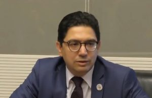 Morocco's Minister of Foreign Affairs, Nasser Bourita