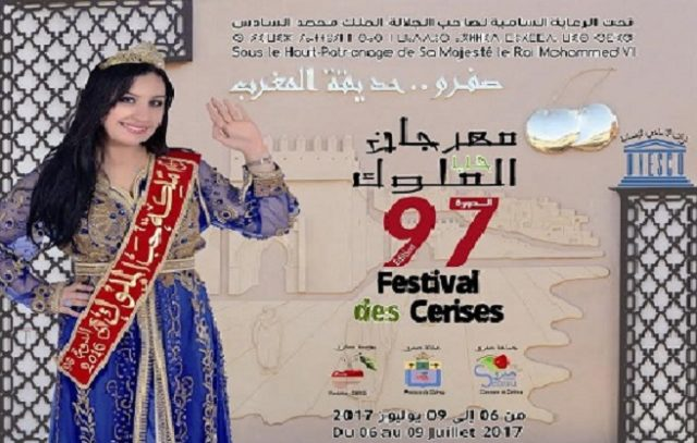 Morocco Celebrates 97th Cherry Festival in Sefrou