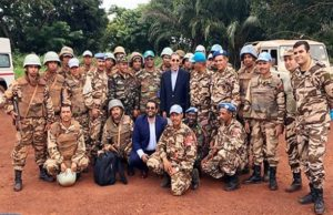 Omar Hilale Praises Moroccan UN Peacekeepers in Central African Republic