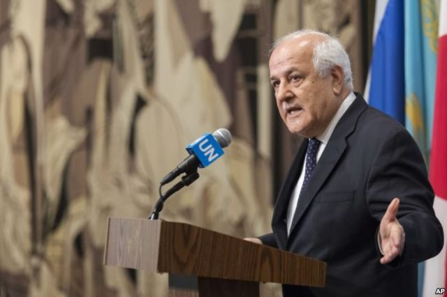 "Palestinian Envoy , Riyad Mansour, Warns UN Al Aqsa at ""Tipping Point"""