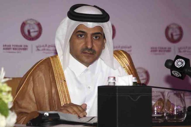 Qatar's Attorney General Ali bin Fetais al-Marri