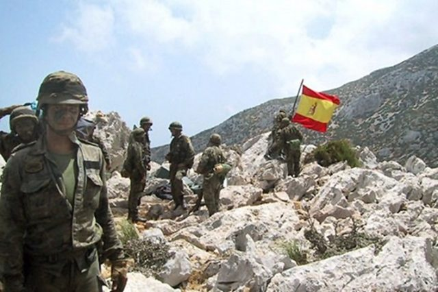 Spanish Forces Capture Moroccans Soldiers 15 Years Ago on Leila Island