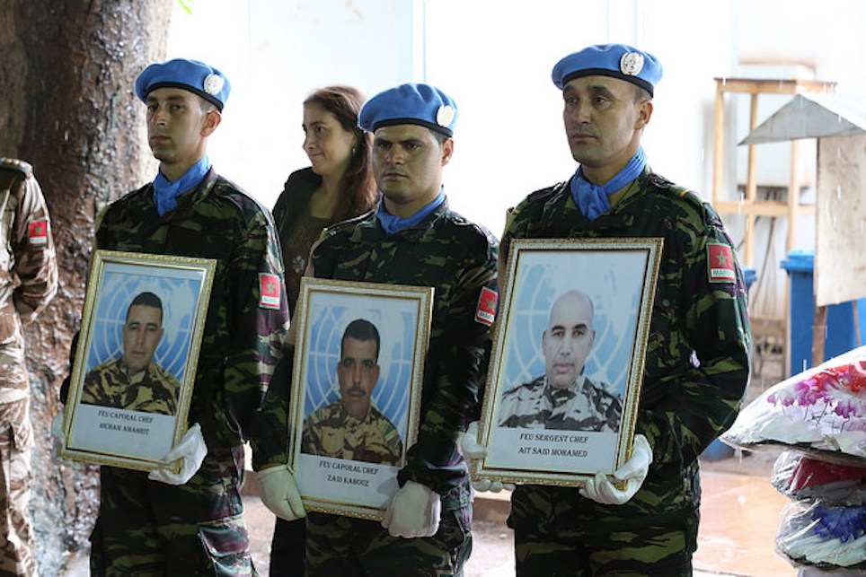 Three Killed Moroccan Soldiers