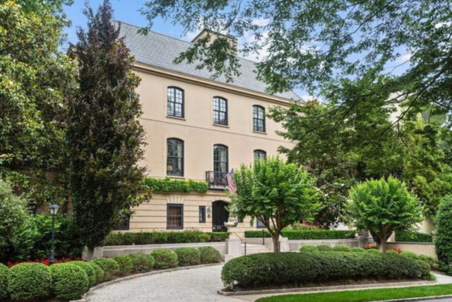 Morocco's new residence in D.C. is located at 2817 Woodland Drive NW
