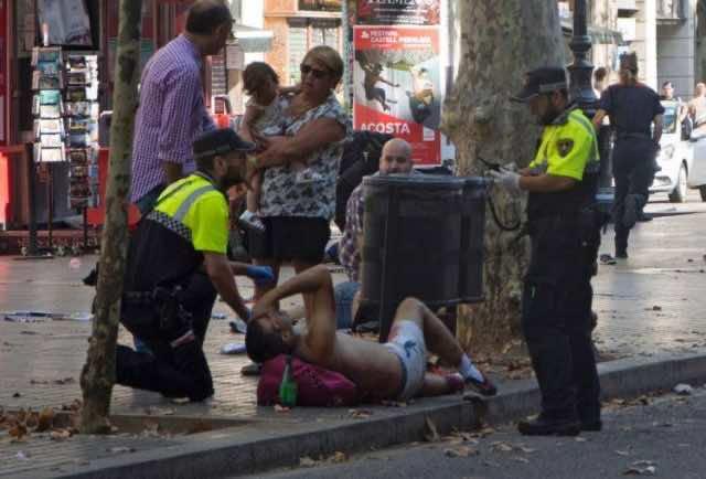 13 Dead, Many Injured in Terrorist Attack in Barcelona