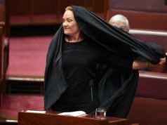 Australian Senator Condemned for Wearing Burqa in Australian Senate