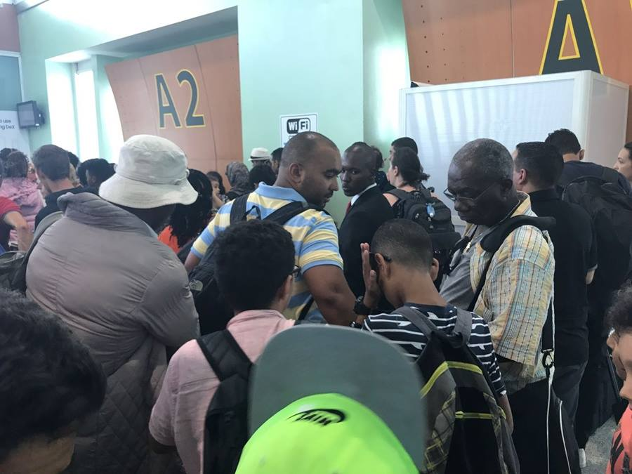 Chaos at Casablanca-Washington Boarding Gate, Total Absence of Airport Personnel