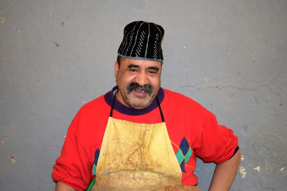 Fish seller. Photo by ieva kambarovaite