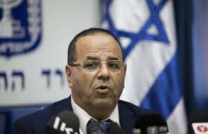 Israel's Communications Minister Ayoub Kara speaks during a press conference in Jerusalem