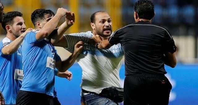 Jordanian Team Assaults Referee Following Defeat