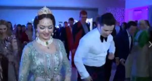 Moroccan Couple Celebrates Wedding with a Dazzling Array of Dances