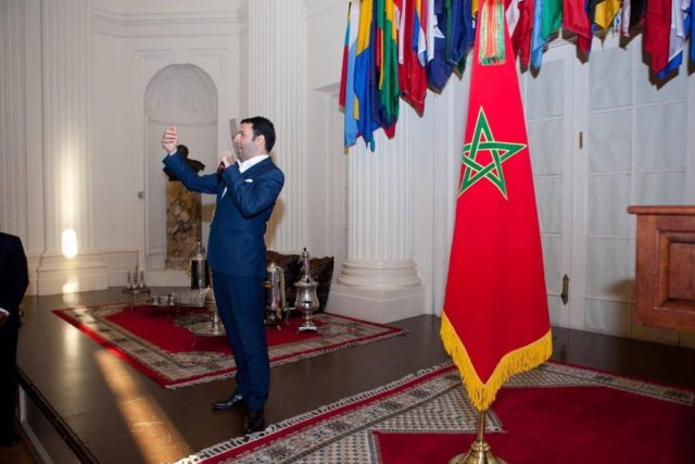 Singer David Serero Performs Moroccan Anthem at Washington Throne Day Gala
